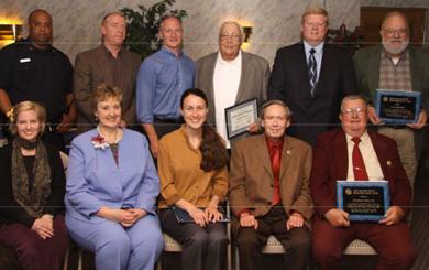 Group photo of 2010 UDC Award winners