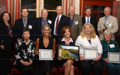 group portrait of honorees