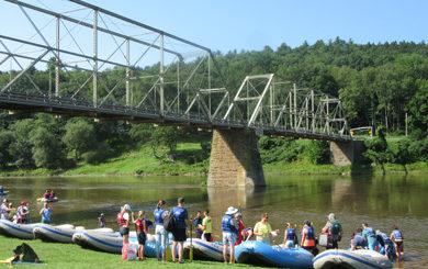 group rafting trip