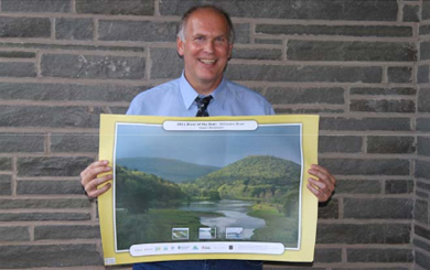 UDC Staffer's Photo Chosen for PA  Delaware River of the Year Poster