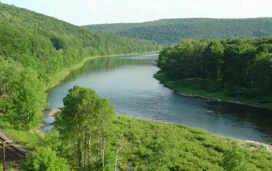 Delaware River Valley by David B. Soete
