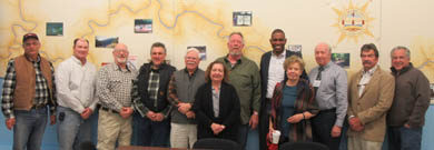 U.S. Congressman Antonio Delgado (NY-19) Meets with Upper Delaware Council Members