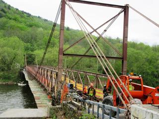 repairing the bridge