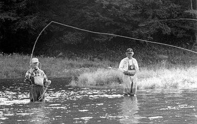 fishing the Delaware River