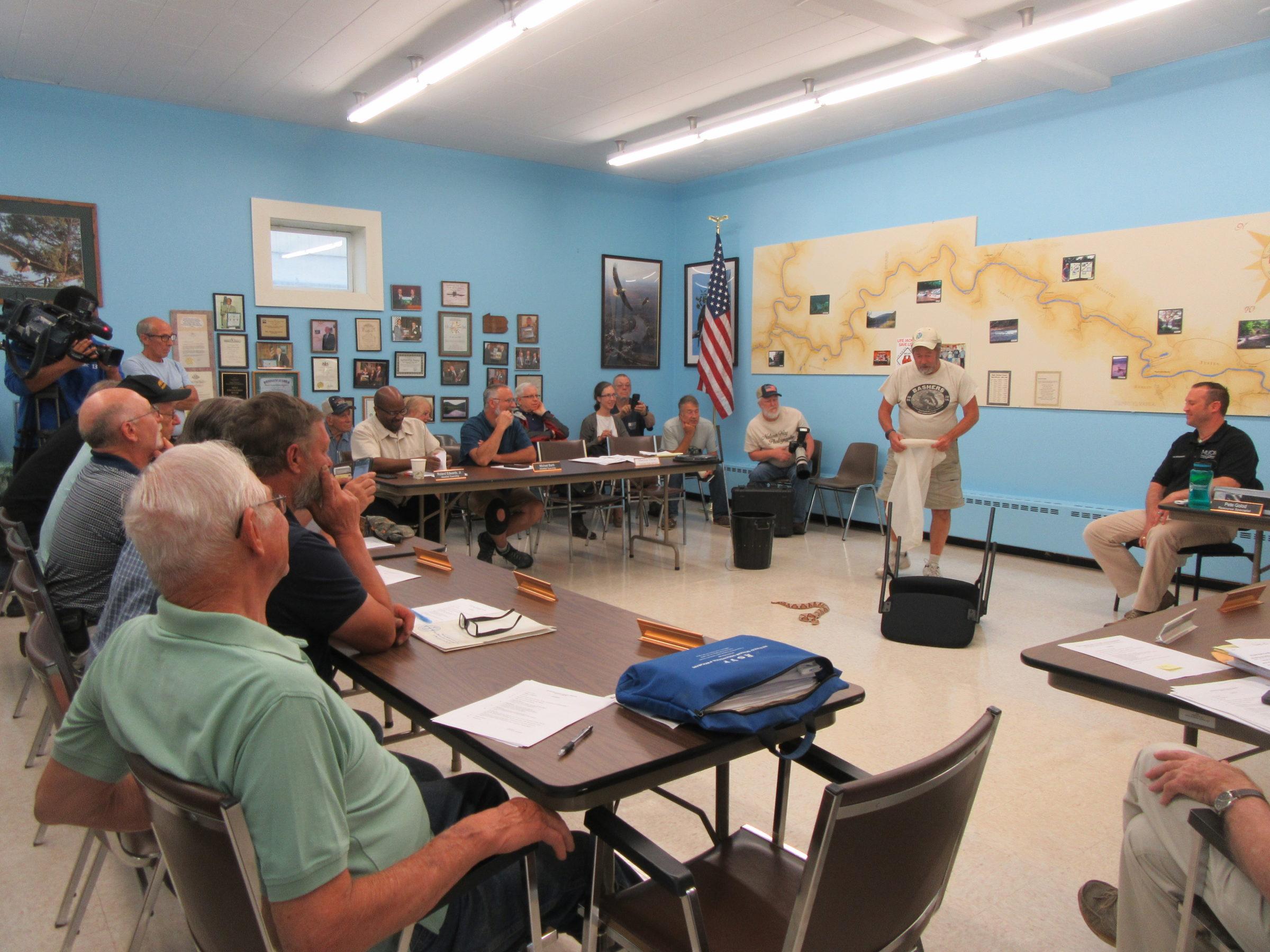 Randy Stechert Habits and Habitats of Venomous Snakes presentation