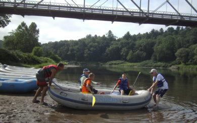 launching a raft