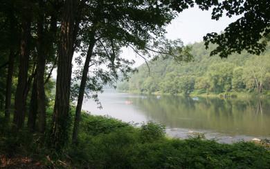 The Delaware River by David Soete