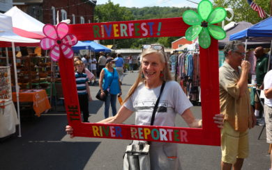photo frame by The River Reporter