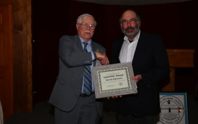 Steven Schwartz receives award