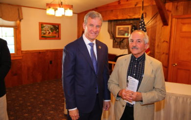 portrait of U.S. Representative Matt Cartwright and Don Hamilton Natural Resources Chief UDSRR NPS