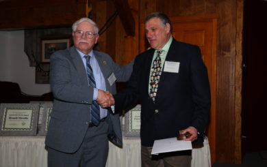 Aaron I. Robinson receives award