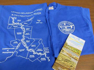 Upper Delaware River t-shirts