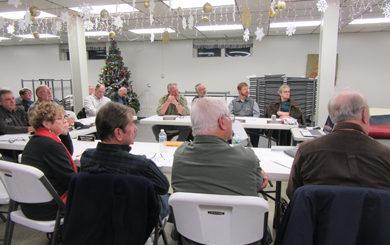 Dec. 7, 2017 meeting held at the Tusten Town Hall in Narrowsburg, NY.