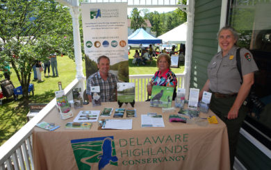 Delaware Highlands Conservancy educational booth