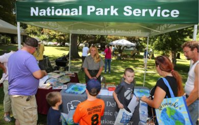 National park service booth