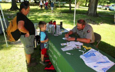 National parks service ranger