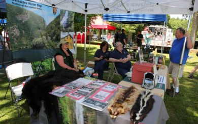 Delaware Water Gap National Recreation Area booth
