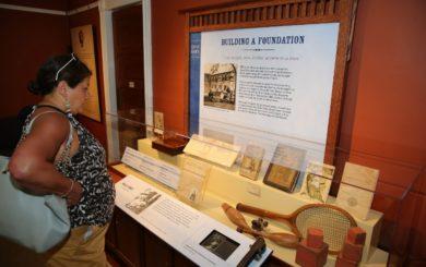 Zane Grey Museum interpretive panels