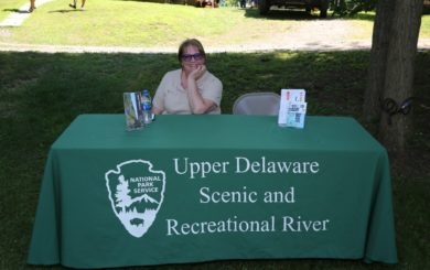 Upper Delaware Scenic and Recreational river booth