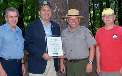 Delaware River Sojourn Salutes Rep. Carney as 'Lord High Admiral'