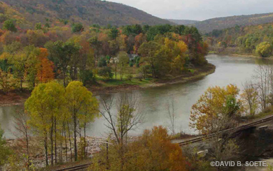 Fall Upper Delaware Scenic Byway