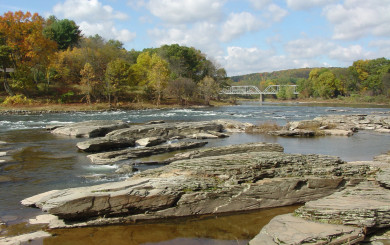 Skinners Falls by David Soete