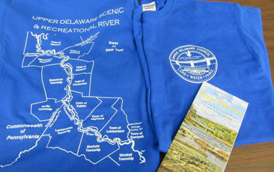UDC Offers Upper Delaware T-shirts for $15 Donation and Free Brochures