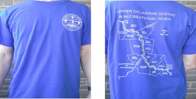 Upper Delaware River T-shirts Make Great Gifts, Benefit UDC