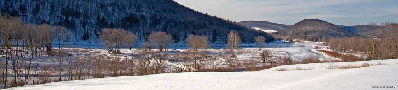Winter on the Delaware River